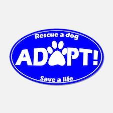 Adopt Sticker (Blue)