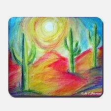 Desert, Bright, Mousepad