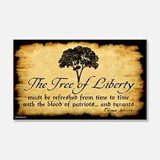 Tree of Liberty Quote - T. Jefferson Sticker (Rect