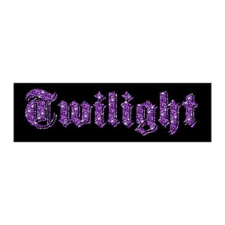 Purple Sparkle Twilight 20x6 Wall Peel