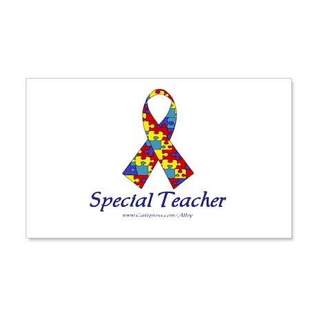 Special Teacher 20x12 Wall Peel