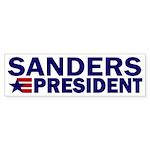 Bernie Sanders: President! Bumper Sticker