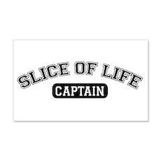 Slice of Life Captain 20x12 Wall Peel