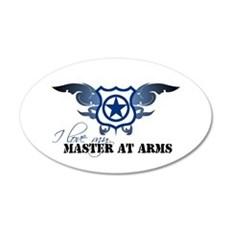 Master at Arms 20x12 Oval Wall Peel
