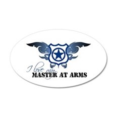Master at Arms 35x21 Oval Wall Peel