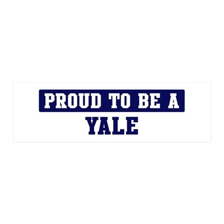 Proud to be Yale 20x6 Wall Peel