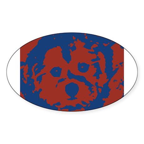 porkie Sticker (Oval)