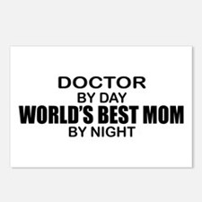 World's Best Mom - Doctor Postcards (Package of 8)