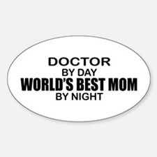 World's Best Mom - Doctor Decal