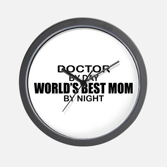 World's Best Mom - Doctor Wall Clock