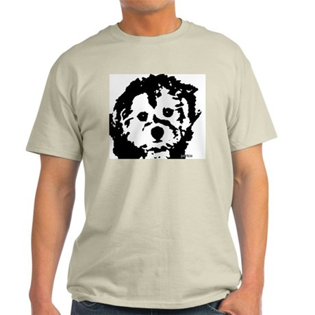 porkie - black & white Light T-Shirt