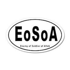 EoSoA 35x21 Oval Wall Peel