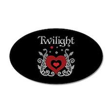 Heart Twilight 20x12 Oval Wall Peel