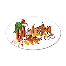 Oktoberfest 20x12 Oval Wall Peel