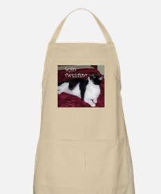 Kitty Who Tweeted Apron