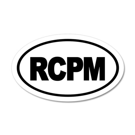 RCPM 35x21 Oval Wall Peel