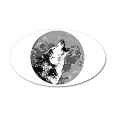 Howlin' Wolf 20x12 Oval Wall Peel