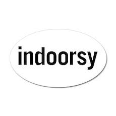 Indoorsy 20x12 Oval Wall Peel
