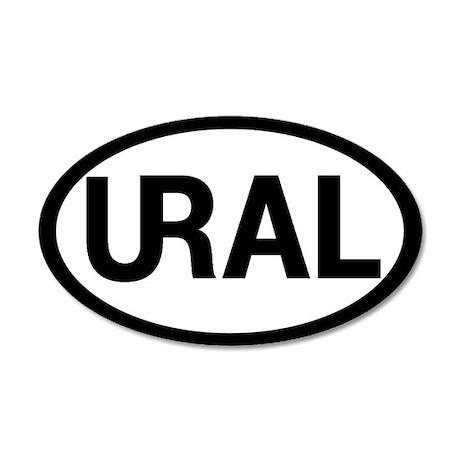 35x21 Oval Wall Peel - URAL