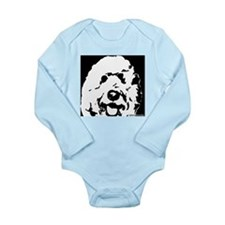 labradoodle Long Sleeve Infant Bodysuit