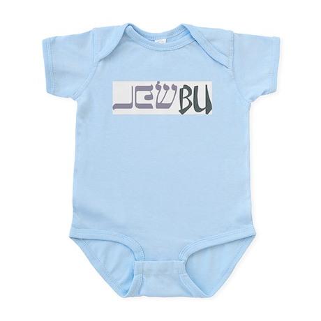 JewBu (Jewish/Buddhist) Babe Infant Creeper