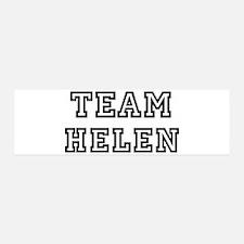 Team Helen 36x11 Wall Peel