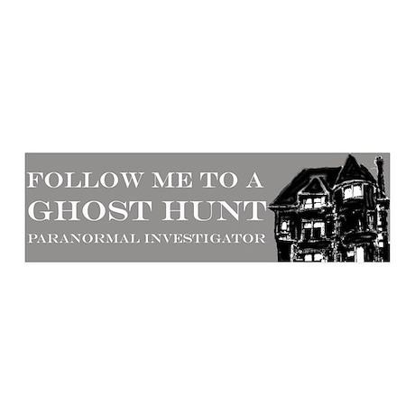 Follow Me Ghost Hunter 20x6 Wall Peel
