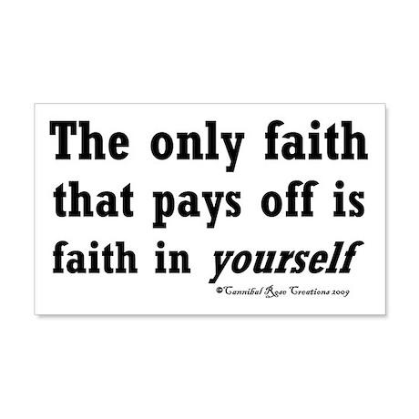 Real Faith 20x12 Wall Peel