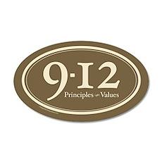 9-12 Principles-Values 20x12 Oval Wall Peel