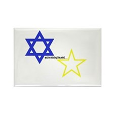 Star of David say to another star? - Missing the P
