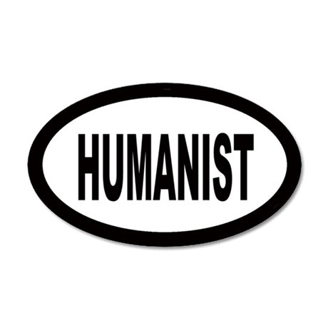 Humanist 20x12 Oval Wall Peel