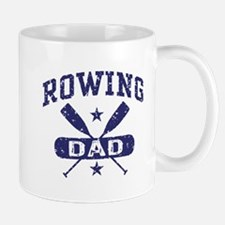 Rowing Dad Small Small Mug