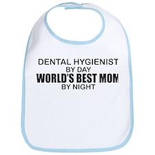 World's Best Mom - Dental Hyg Bib