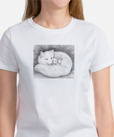 Arctic Fox Family ~ Women's T-Shirt