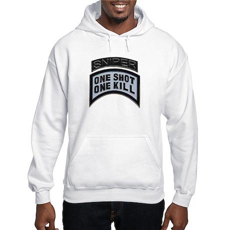 Sniper: One Shot/One Kill Hooded Sweatshirt