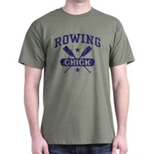 Rowing Chick T-Shirt