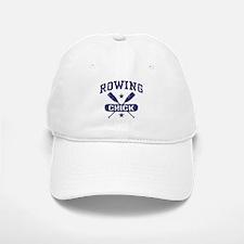 Rowing Chick Baseball Baseball Cap