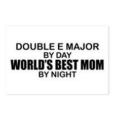 World's Best Mom - Double E Postcards (Package of