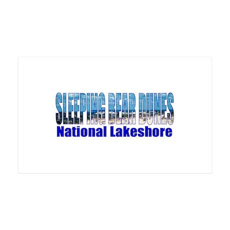 Sleeping Bear Dunes National Sticker (Rectangular