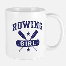 Rowing Girl Small Small Mug