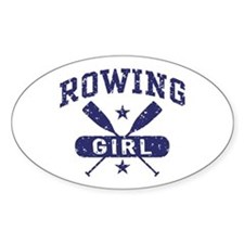 Rowing Girl Decal
