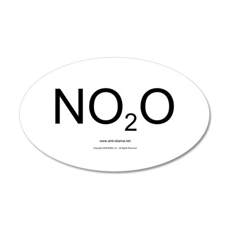 NO2O - Misc 20x12 Oval Wall Peel