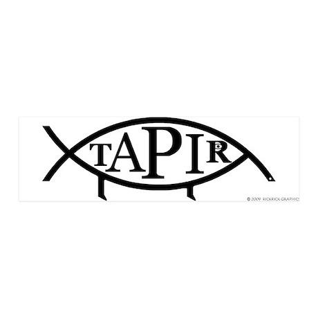 Tapirfish 36x11 Wall Peel
