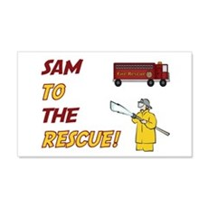 Sam to the Rescue! 20x12 Wall Peel
