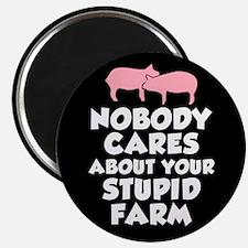 Stupid Farm - Pigs Magnet