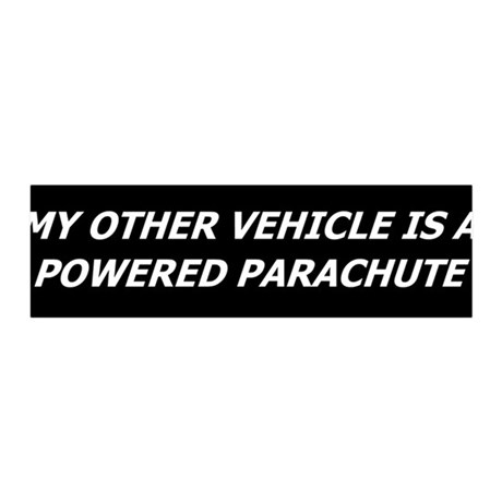 Powered Parachute 36x11 Wall Peel