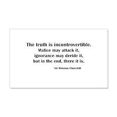 Churchill's Truth 20x12 Wall Peel