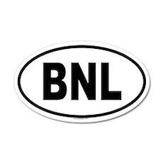 BNL 20x12 Oval Wall Peel