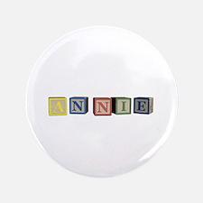 """Annie Alphabet Block 3.5"""" Button (100 pack)"""