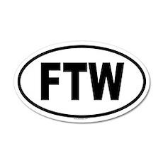 FTW 20x12 Oval Wall Peel